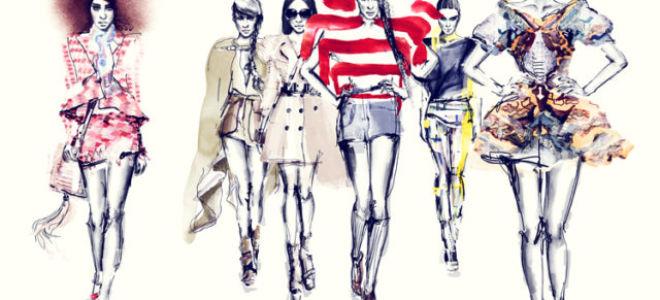 Что такое fashion-скетч и как его нарисовать