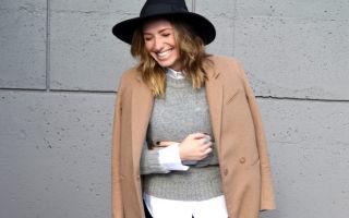Подбираем головной убор к пальто: создаем стильный образ