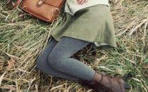 Короткая юбка зимой: 5 правил сурового зимнего мини