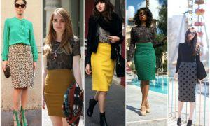 Юбка-карандаш: как носить, чтобы выглядеть модно