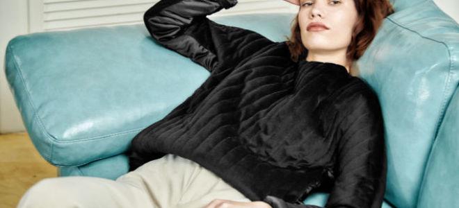 Новинка: бархатный свитшот Husky Wear