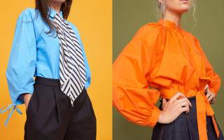 Блузки модных цветов — надеваем красиво