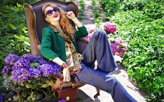 Блузки с модными принтами: лучшие идеи