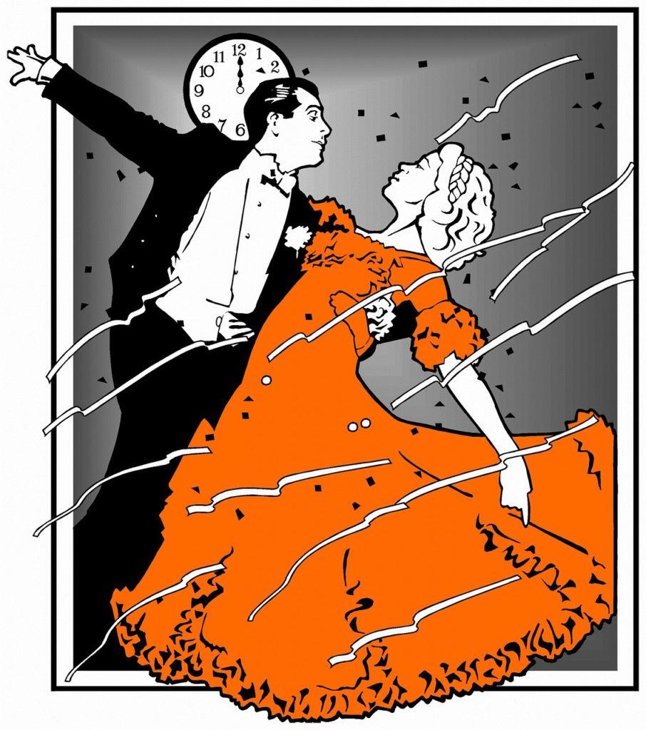 цвет новый год оранжевый