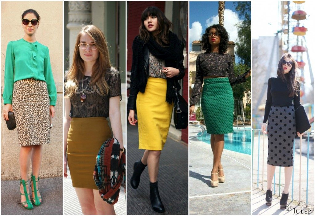 Юбка-карандаш: как носить модно