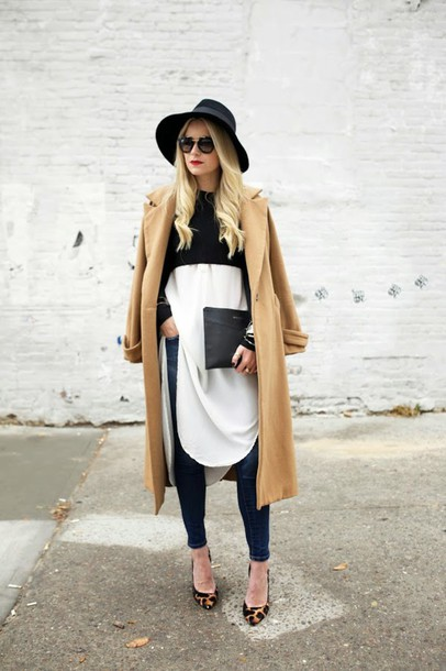 Шляпа и пальто