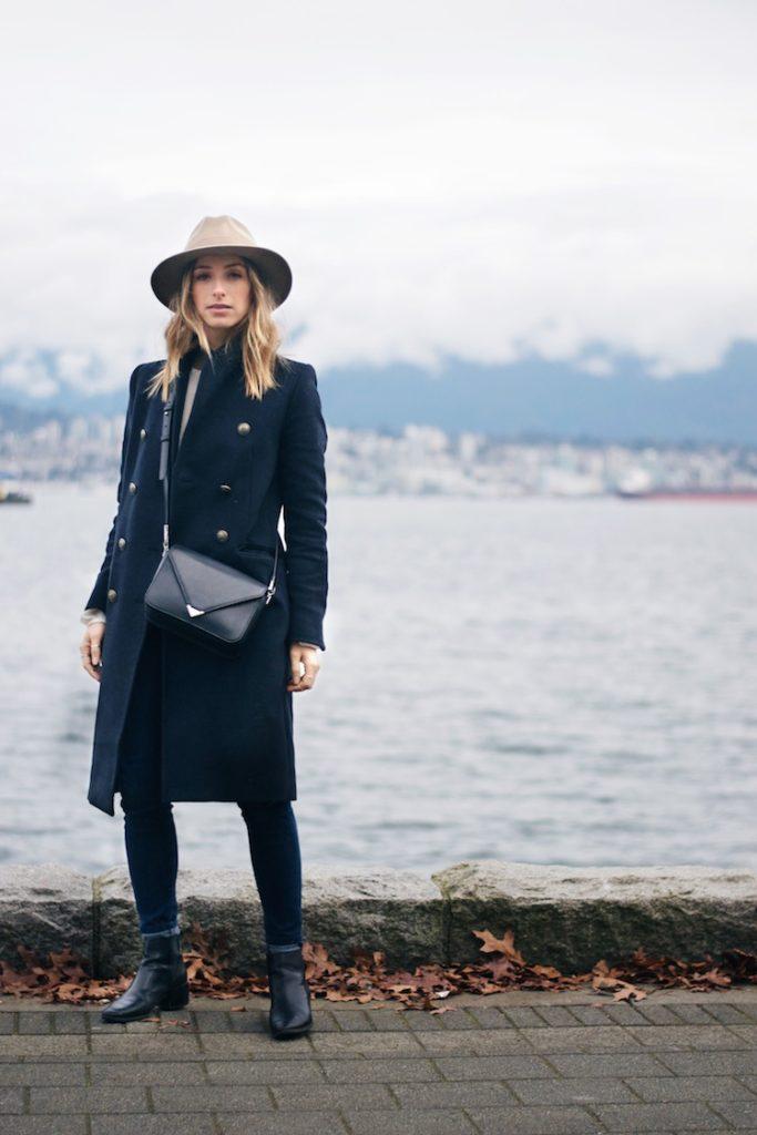 Как подобрать шляпу к пальто