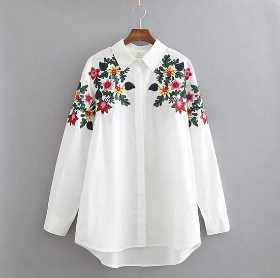 Удлиненные блузки