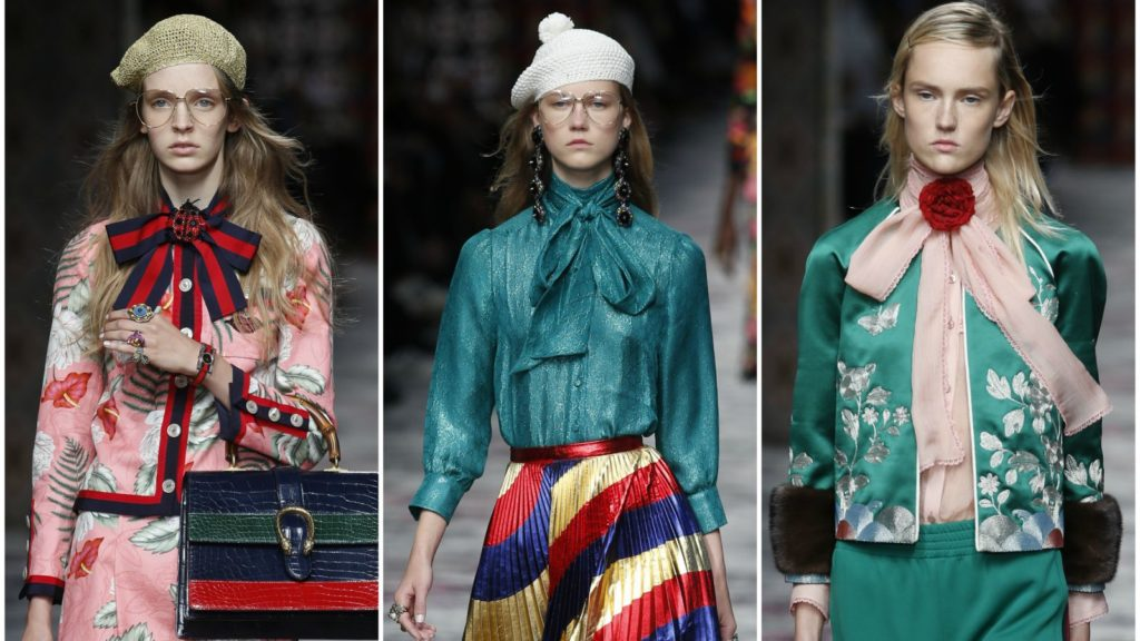 Блузки модных цветов