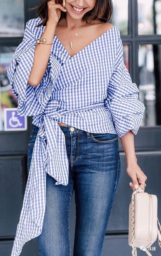С чем носить модную блузку