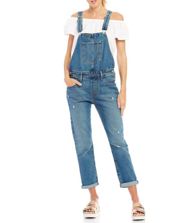 Модные тренды 2018 джинсы