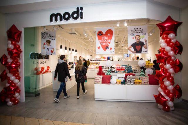 Магазины MODI открылись в Москве