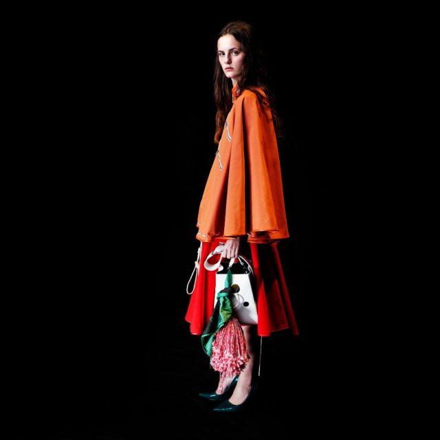 Оранжевый в моде в 2018 году