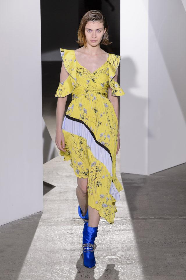 Модные цвета 2018: жёлтый