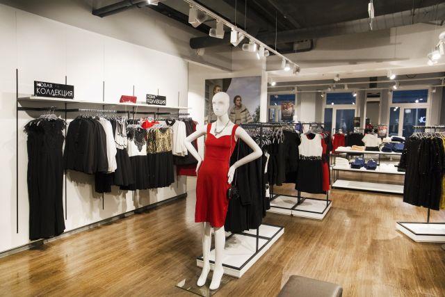 красное платье incity