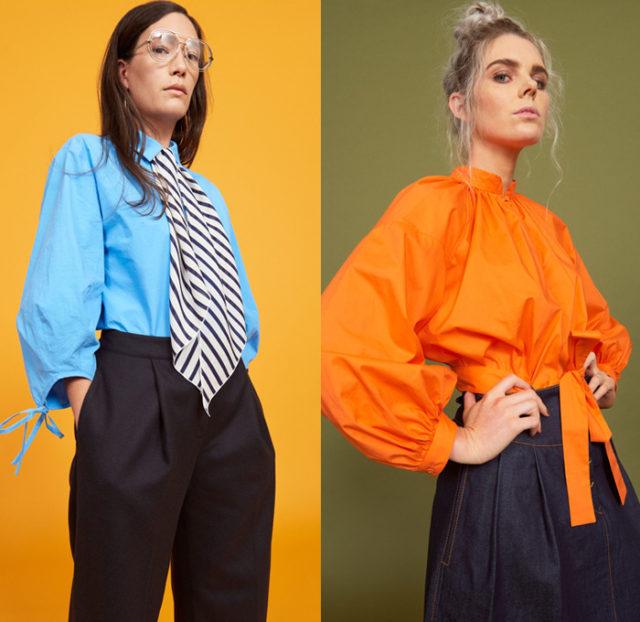 С чем носить модные блузки